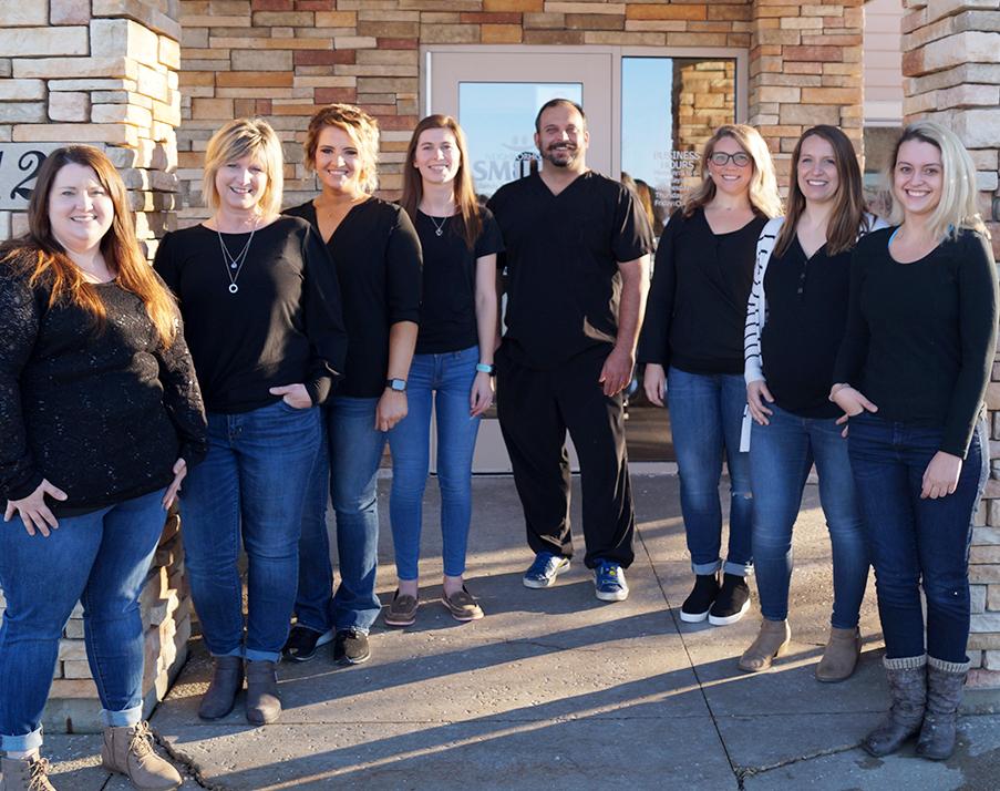 belleville staff outdoors